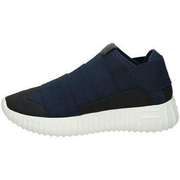 Scarpe Unisex bambino Sneakers basse Fessura DINGHYGANG THREE Blu