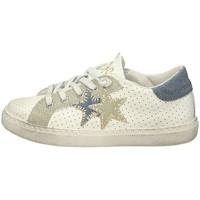 Scarpe Unisex bambino Sneakers basse Balada 2SB1110A Sneakers Basse  Bambina Bianco Bianco