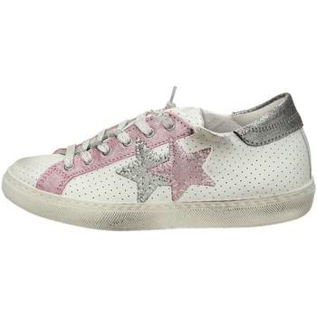 Scarpe Donna Sneakers basse Balada 2SB1111C Sneakers Basse  Donna Bianco Rosa Bianco Rosa