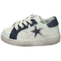 Scarpe Unisex bambino Sneakers basse Balada 2SB1112 Sneakers Basse  Bambino Bianco Blu Bianco Blu