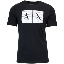 Abbigliamento Uomo T-shirt maniche corte Armani Exchange UOMO T-SHIRT 8NZTCK Z8H4Z GRAPHIC TEE Nero