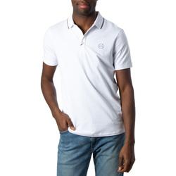 Abbigliamento Uomo Polo maniche corte Armani Exchange UOMO T-SHIRT POLO 8NZF70 Z8M9Z Bianco