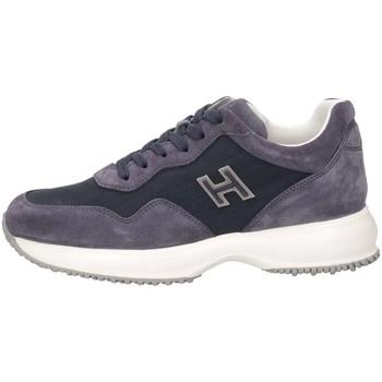 Scarpe Unisex bambino Sneakers basse Hogan HXC00N0V3118GMU810 Sneakers Bambino Blu Blu