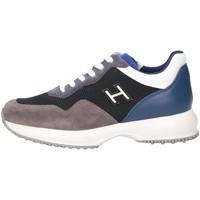 Scarpe Bambino Sneakers basse Hogan Junior HXC00N0V311IBQ0PAI Sneakers Bambino Grigio/blue Grigio/blue