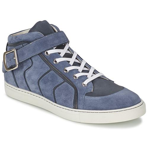 Scarpe Uomo Sneakers alte Vivienne Westwood HIGH TRAINER Blu