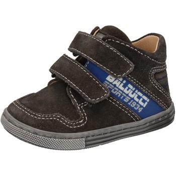 Scarpe Bambino Sneakers alte Balducci scarpe bambino  sneakers grigio camoscio AD586 Grigio