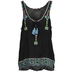 Abbigliamento Donna Top / T-shirt senza maniche Antik Batik SANAH Nero