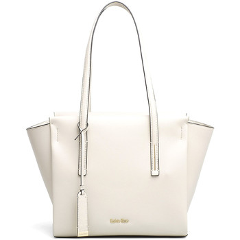 Borse Donna Tote bag / Borsa shopping Calvin Klein Jeans BORSA DONNA FRAME MEDIUM SHOPPER K60K603979 Beige