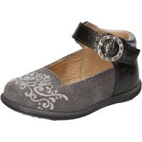 Scarpe Bambina Ballerine Balducci scarpe bambina  ballerine grigio camoscio vernice AD599 Grigio
