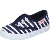 Scarpe Bambino Sneakers basse Cienta sneakers blu tessuto profumate AD823 blu