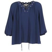 Abbigliamento Donna Top / Blusa MICHAEL Michael Kors SCALLP GRMT CHAIN TOP Marine