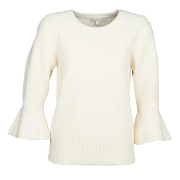 Abbigliamento Donna Maglioni MICHAEL Michael Kors SHAKER ROUND SLV Bianco