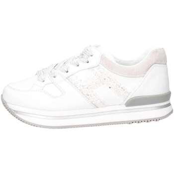 Scarpe Bambina Sneakers basse Hogan Junior HXC2220T548ICB048K Sneakers Bambina Bianco/glitter Bianco/glitter