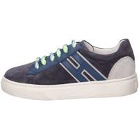 Scarpe Bambino Sneakers basse Hogan Junior HXC3400K390HB90QBV Sneakers Bambino Blu Blu