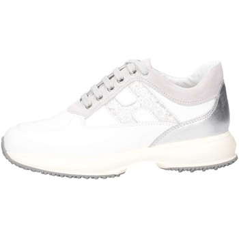 Scarpe Bambina Sneakers basse Hogan Junior HXR00N0O241IBK0CD1 Sneakers Bambina Bianco/glitter Bianco/glitter