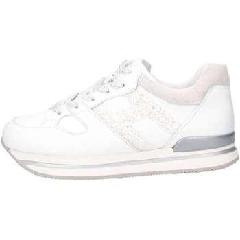 Scarpe Bambina Sneakers basse Hogan Junior HXR2220T548ICB048K Sneakers Bambina Bianco/glitter Bianco/glitter