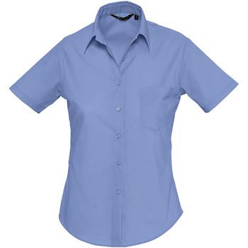 Abbigliamento Donna Camicie Sols ESCAPE POPELIN WOMEN Azul