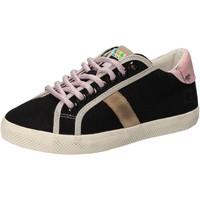Scarpe Bambina Sneakers basse Date scarpe bambina D.A.T.E. (DATE) sneakers nero tessuto AD859 Nero