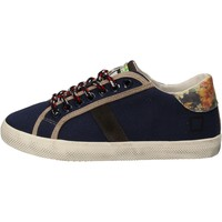 Scarpe Bambina Sneakers basse Date sneakers blu tessuto AD862 blu