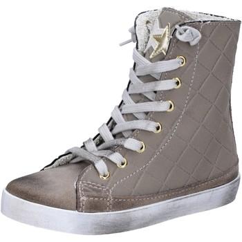 Scarpe bambini   sneakers beige tessuto ...