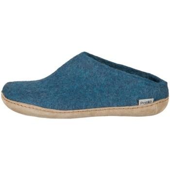 Scarpe Uomo Pantofole Glerups DK Open Heel Azzuro