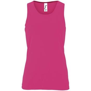 Abbigliamento Donna Top / T-shirt senza maniche Sols SPORT TT WOMEN Rosa