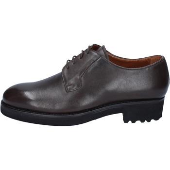 Scarpe Uomo Derby Alexander scarpe uomo  classiche marrone (t. moro) pelle BY450 marrone