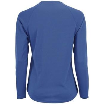 Abbigliamento Donna T-shirts a maniche lunghe Sols SPORT LSL WOMEN Azul