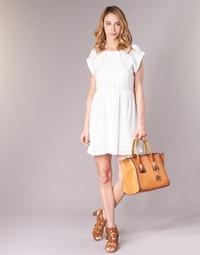 Abbigliamento Donna Abiti corti Moony Mood INDI Bianco