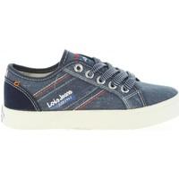Scarpe Unisex bambino Sneakers basse Lois Jeans 60050 Azul