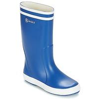 Scarpe Unisex bambino Stivali da pioggia Aigle LOLLY POP Blu