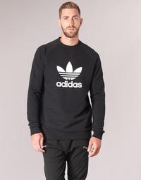 Abbigliamento Uomo Felpe adidas Originals TREFOIL CREW Nero
