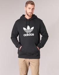 Abbigliamento Uomo Felpe adidas Originals TREFOIL HOODIE Nero
