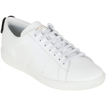 Scarpe Donna Sneakers basse Saint Laurent Sneakers da donna in pelle bianco