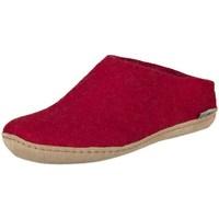 Scarpe Donna Pantofole Glerups B0800 Rosso
