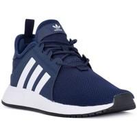 Scarpe Unisex bambino Sneakers basse adidas Originals X Plr J Blu marino