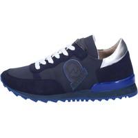 Scarpe Donna Sneakers Invicta sneakers blu tessuto camoscio AB54 blu