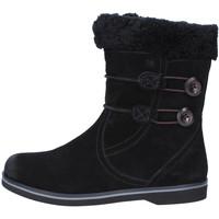 Scarpe Donna Stivaletti Mbt scarpe donna  stivaletti nero camoscio pelliccia AB232 masai Nero