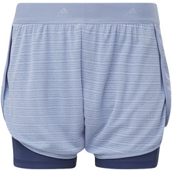 Abbigliamento Donna Shorts / Bermuda adidas Performance Short Two-in-One Chill Blu