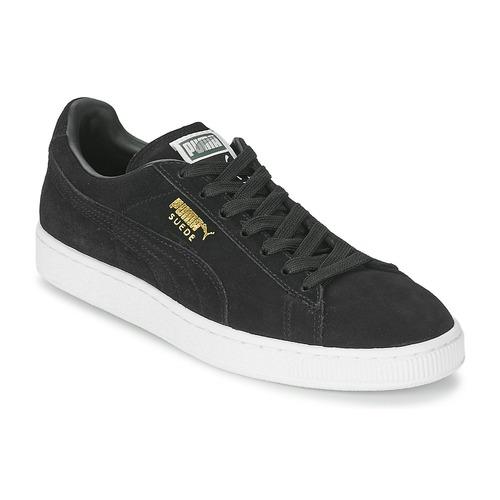 scarpe puma suede uomo nere