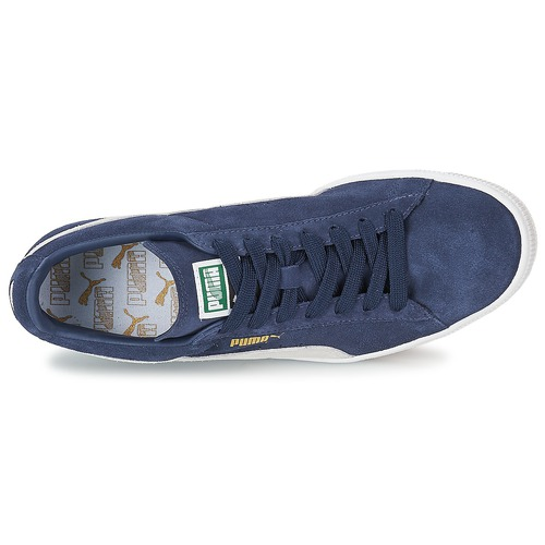 Gratuita Puma Scarpe 6400 BluBianco Sneakers Classic Suede Consegna Basse Rj54LA