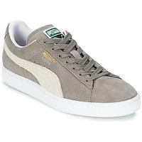 Scarpe Sneakers basse Puma SUEDE CLASSIC Grigio