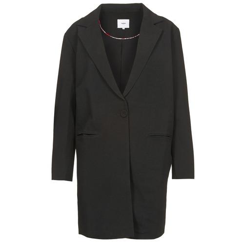 Abbigliamento Donna Cappotti Suncoo EVY Nero
