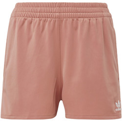 Abbigliamento Donna Shorts / Bermuda adidas Originals Short 3-Stripes Rosa