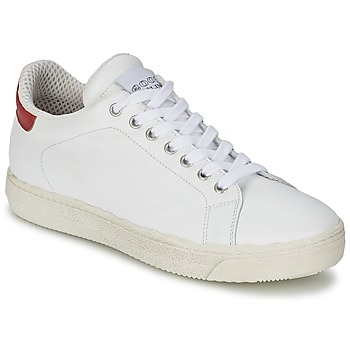 Scarpe Donna Sneakers basse Meline AIMEE Bianco / Rosso