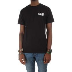 Abbigliamento Uomo T-shirt maniche corte Obey 221180172 T-shirt Uomo Nero Nero