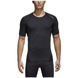 Abbigliamento Uomo T-shirt maniche corte adidas Originals Alphaskin Nero