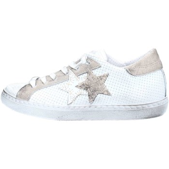 Scarpe Donna Sneakers basse 2 Stars 2S1830 Sneakers Donna Bianco / Taupe Bianco / Taupe