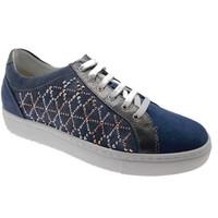 Scarpe Donna Sneakers basse Loren C3787 scarpa donna sneaker jeans plantare ortopedico blu