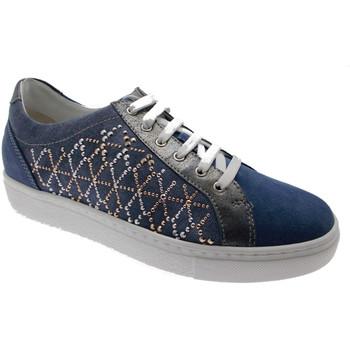 Scarpe Donna Sneakers basse Loren LOC3787bl blu